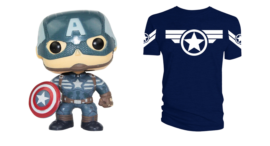 Captain america the winter soldier giveaways